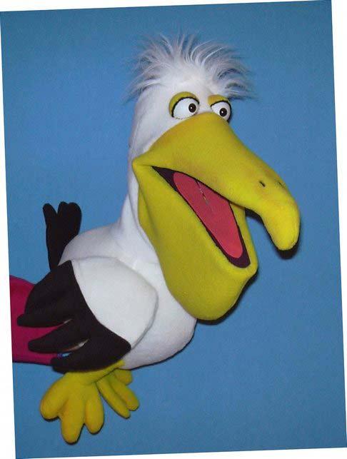Pelican ,  marionnette poupée