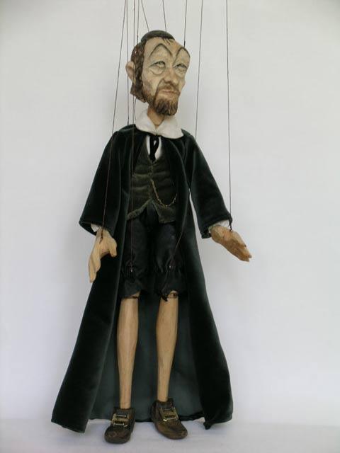 Rabbin marionnette poupée