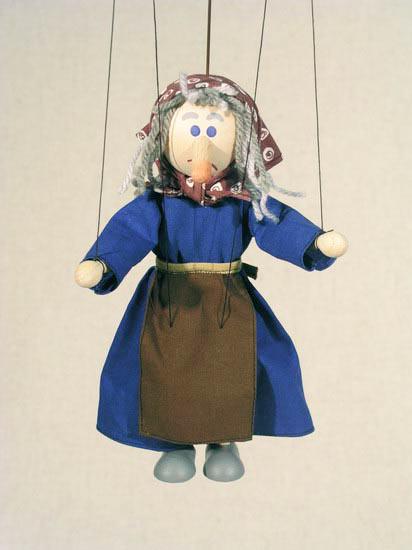 Sorciere marionnette poupée