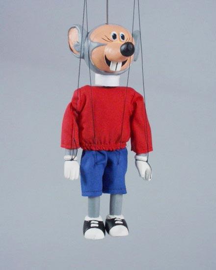 Souris marionnette poupee