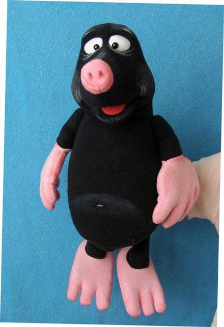 Taupe marionnette poupée