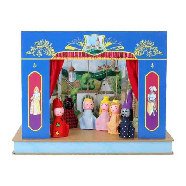 Théâtre de Marionnettes et 6 marionnettes Serrure