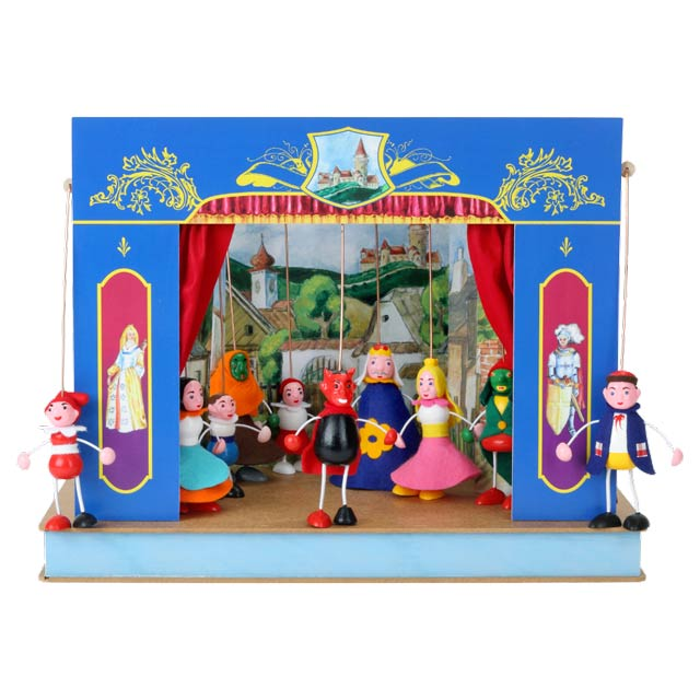 Théâtre de Marionnettes et 10 marionnettes Serrure