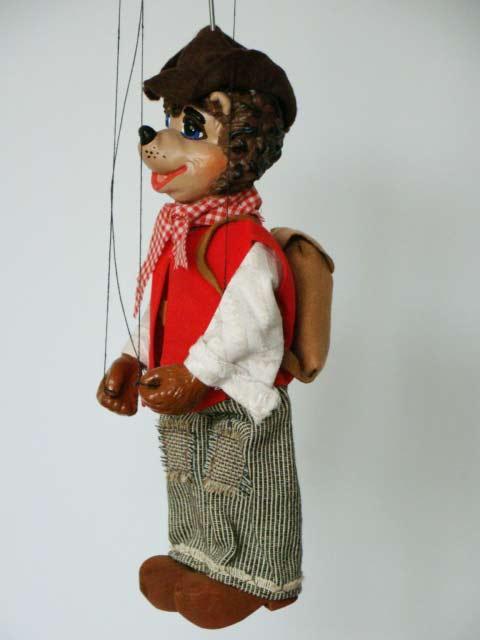 Toutou marionnette poupée