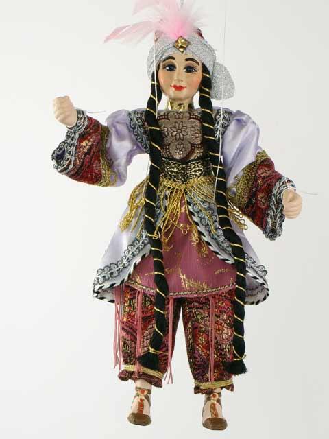 Turque marionnette poupée