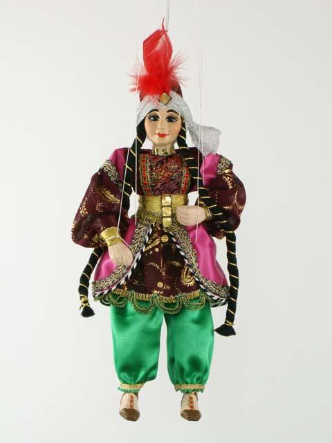 Turque, marionnette poupée