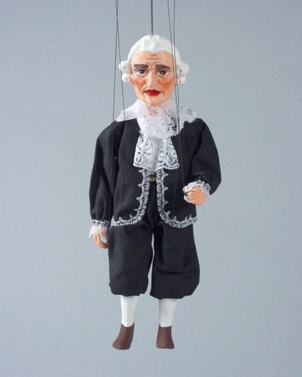 Valet marionnette poupée