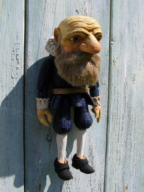 Le Roi Lear marionnette poupée