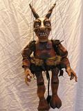 Diable marionnette poupée