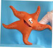 Etoile de mer marionnette poupée