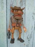 Gangster marionnette poupée