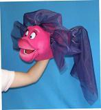 Poisson marionnette poupée