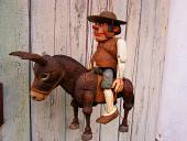 Sancho Panza marionnette poupée