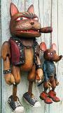 Tom et Jerry marionnettes