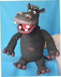 Hippopotame marionnette poupée