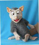 Opossum marionnette poupée