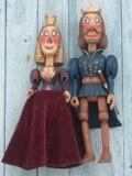 Prince et princesse marionnettes poupée