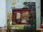 """Théâtre de marionnettes de collection """"Le pays"""""""