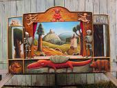 """Théâtre de marionnettes de collection """"Dragon"""""""