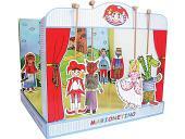 Théâtre de marionnettes carton dur