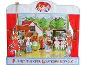 Théâtre de marionnettes carton Frères Grimm
