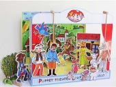 Théâtre de marionnettes carton Fablier