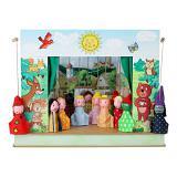 Théâtre de Marionnettes et 12 marionnettes Forêt