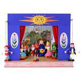 Théâtre de Marionnettes et 6 marionnettes Soleil